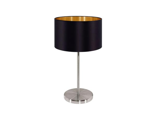 Bedside table-lamp made by high end designer.