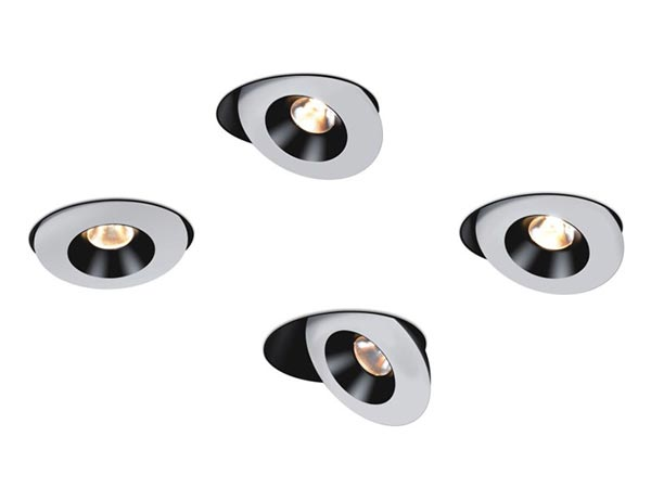 Modern adjustable spotlight white & black colors