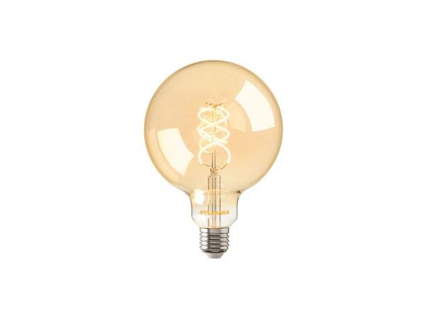 Vintage Edison style LED bulbs.