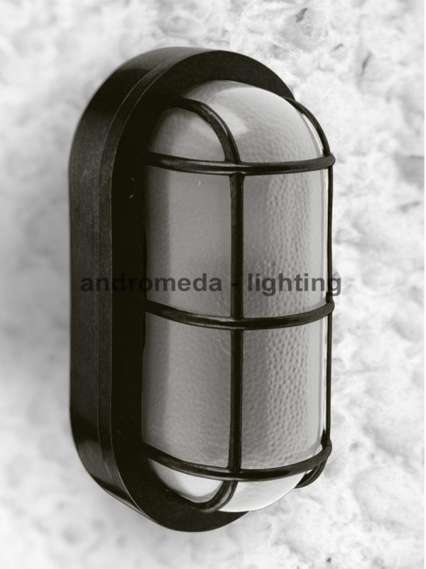 Dark color antique style lamp