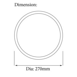 datasheet with dimensions