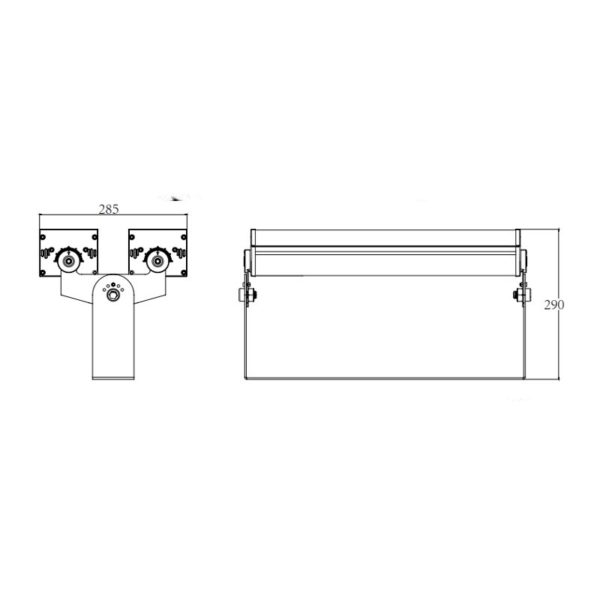 Product dimension drawings