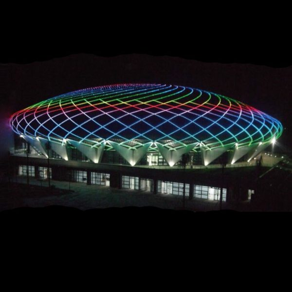 stadium facade illumination