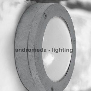 circle flat bulkhead light