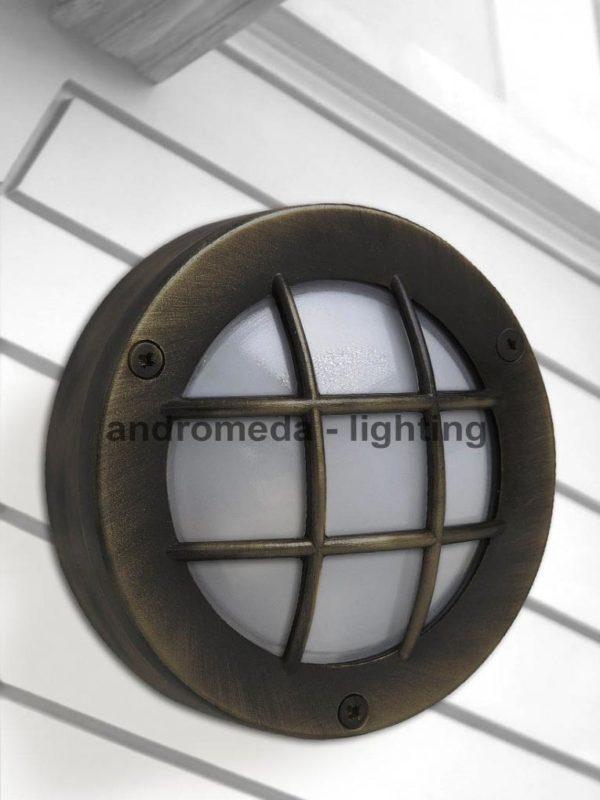 dark finish outdoor lamp