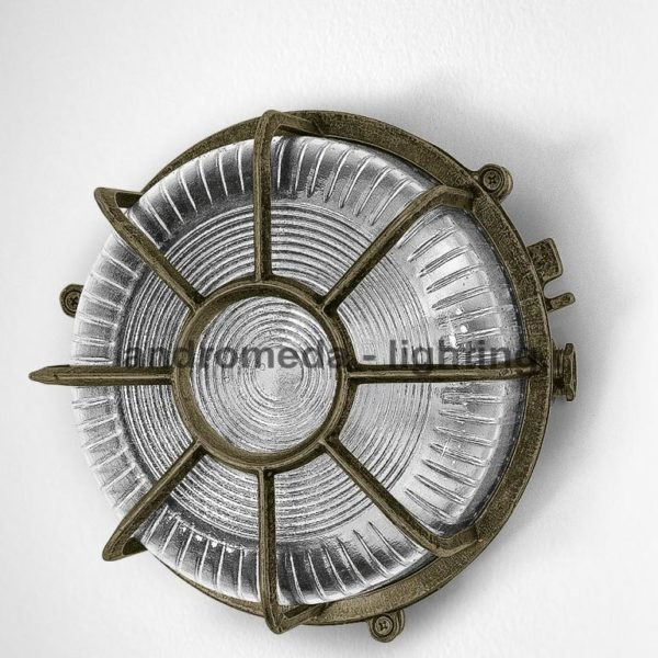 industrial style bulkhead lamp