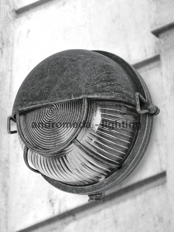 industrial style outdoor lamp