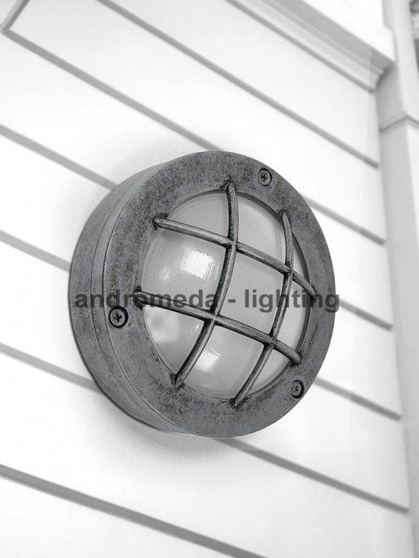 metal finish outdoor lantern