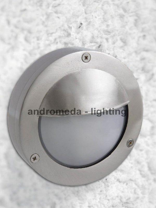 metallic vintage bulkhead lamp