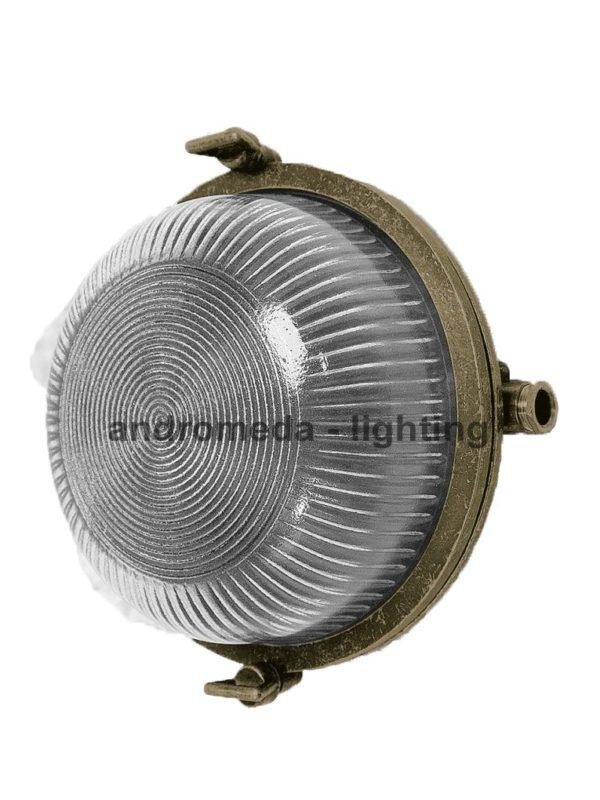 round bulkhead fitting