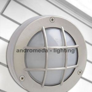 round outdoor bulkhead lighting