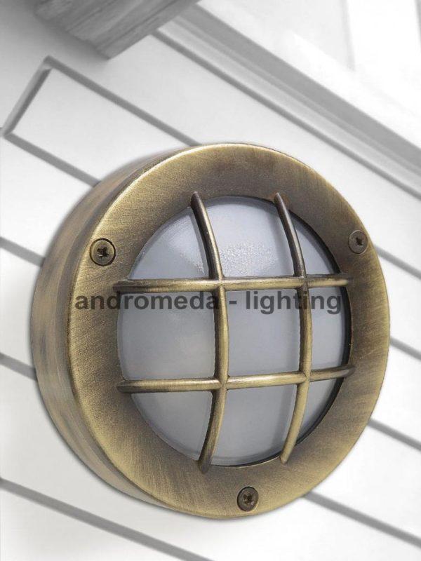 round outdoor lighting
