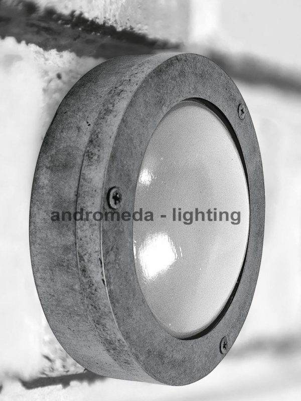 vintage style circle outdoor lamp