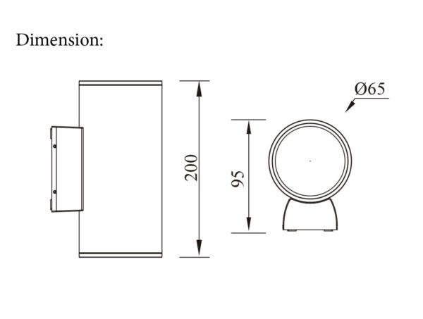 Lighting fixture Dimensions