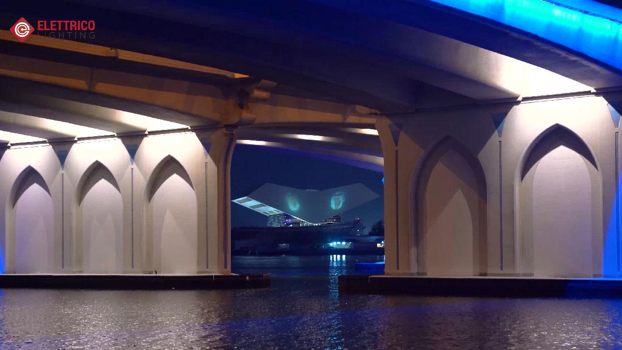 Mohammed bin Rashed Library illumination