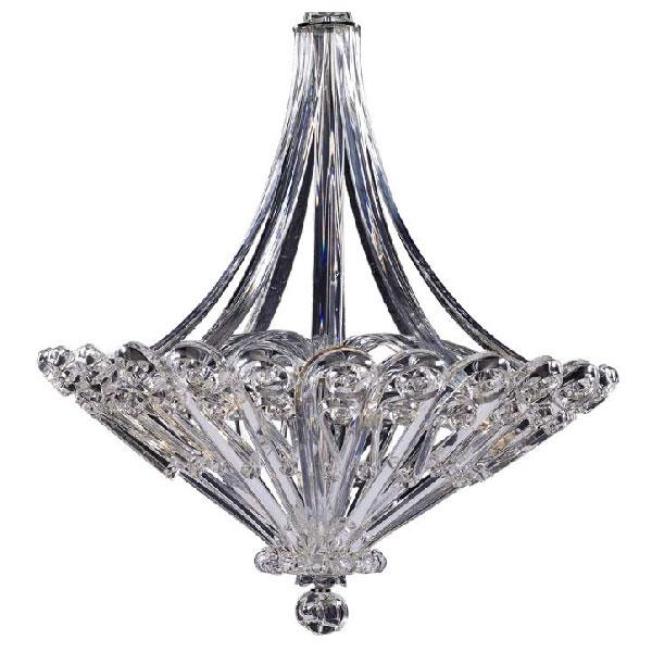 Beautiful glass chandelier