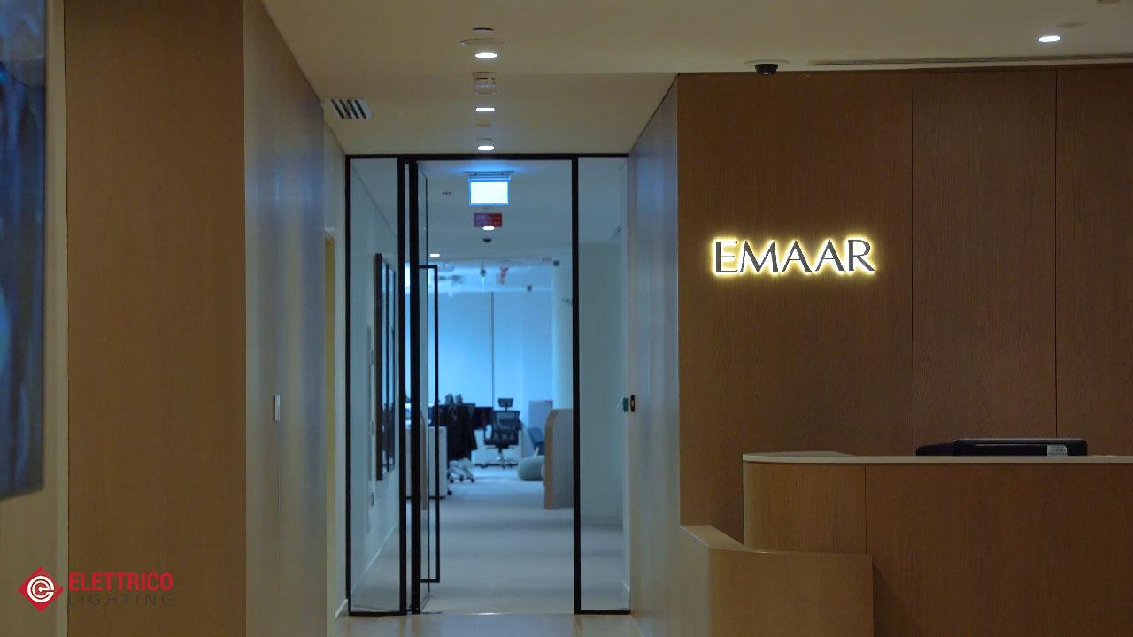 EMAAR Office lighting