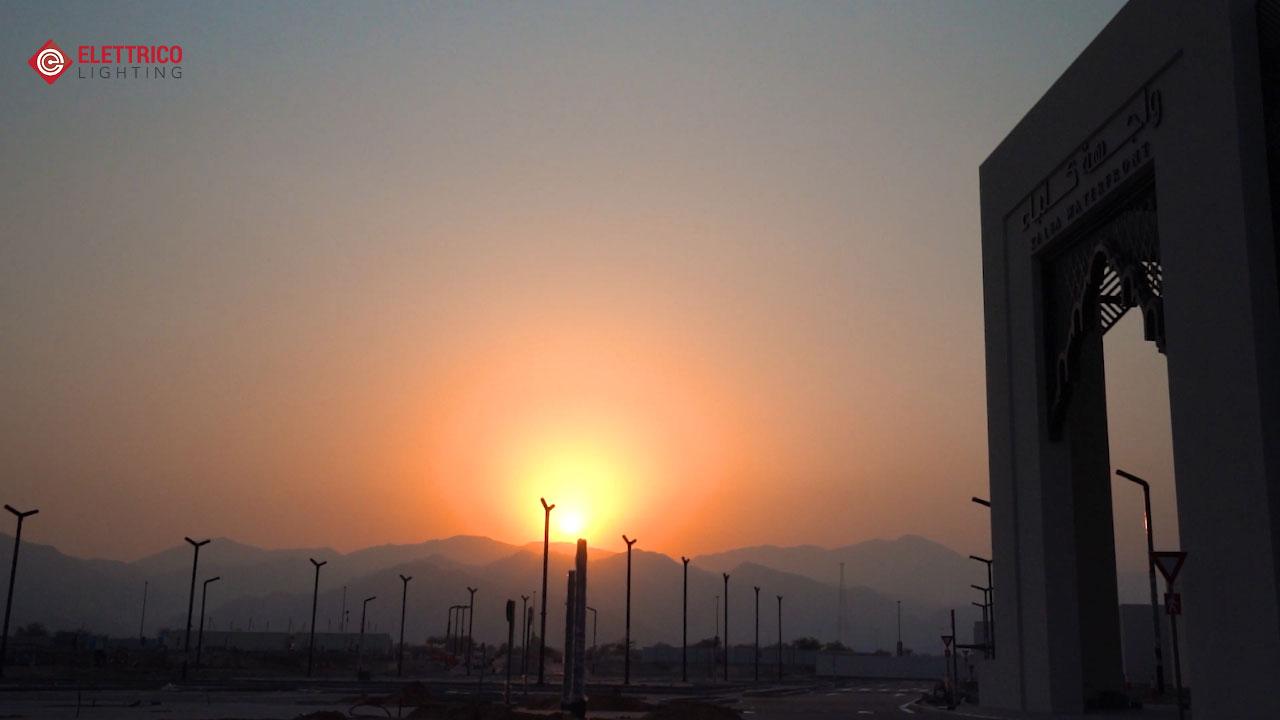 Lighting for Dubai Waterfront