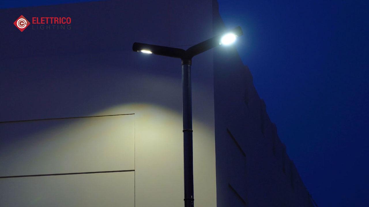 Modern Street pole lights