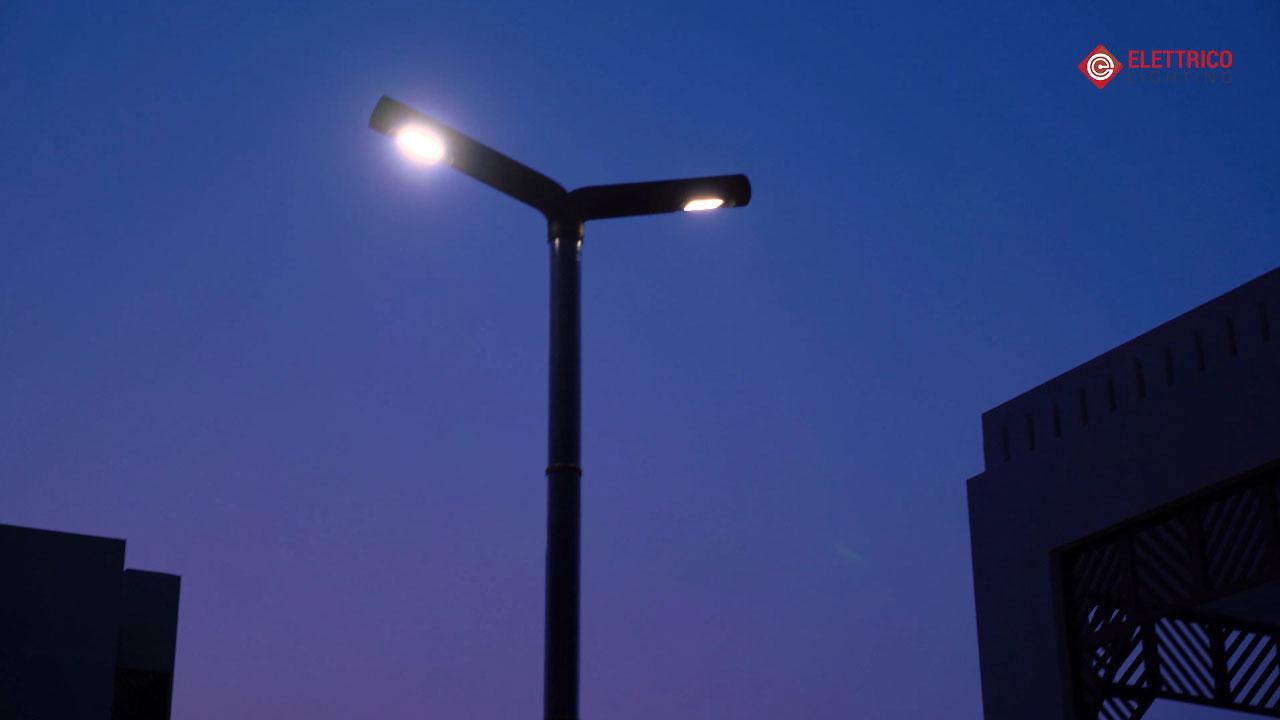 Outdoor street lighting