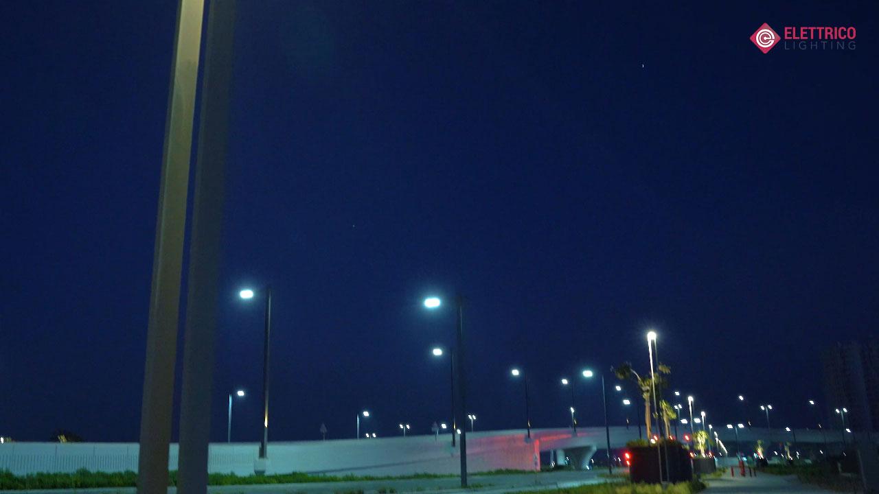 Street pole lights