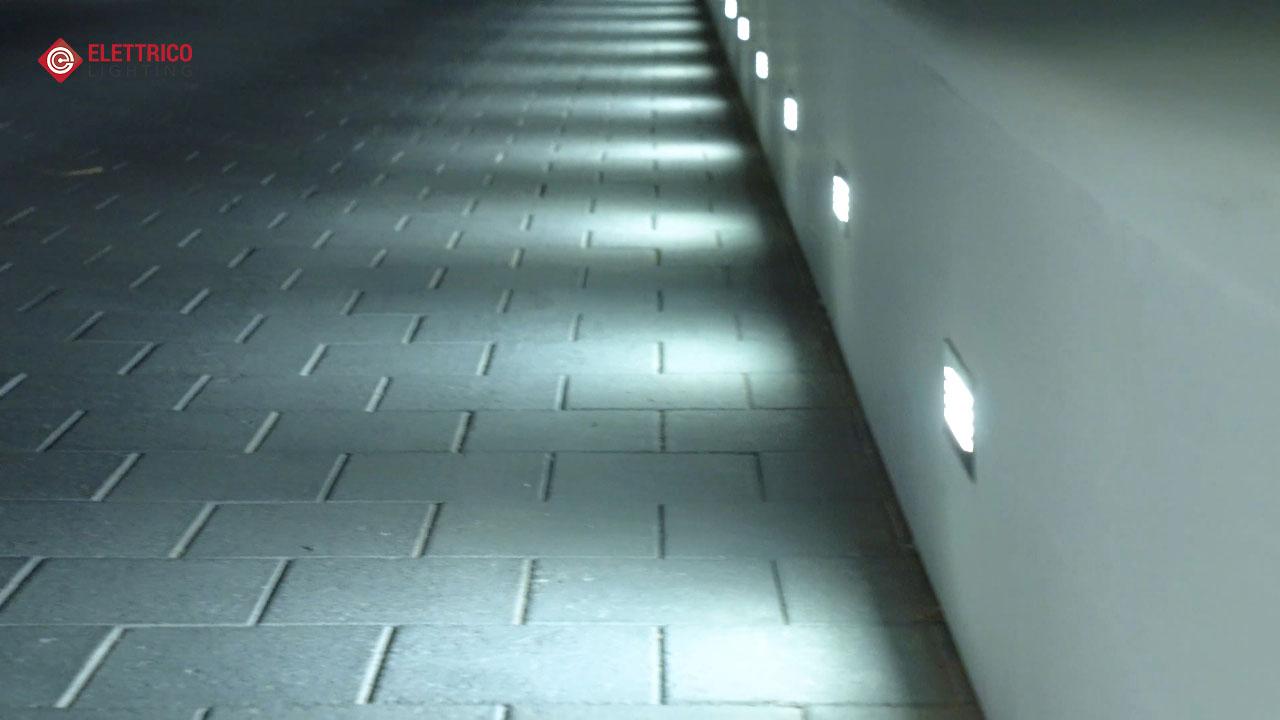 wall mounted step lights